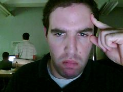 My coding face