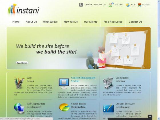 Instani - Web Design Company