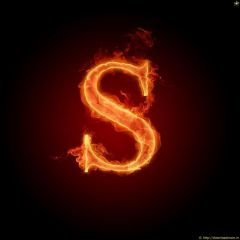 Fire Letter S
