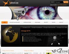 CCTV Company Website Design