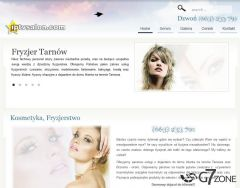 Hair & Beauty Company Website Design