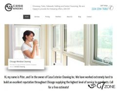 Window Cleaning Company Website Design