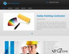 Painting Contractor Website Development