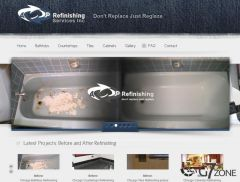 Refinishing Company Website Design
