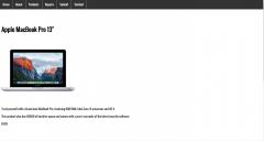 Second Web Design