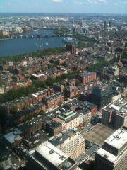 Boston Skyscraper View